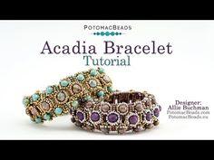 Acadia Bracelet - Jewelry Making Tutorial - YouTube
