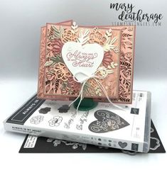Stampin' Up! Love You Always in My Heart Fun Fold with Video Tutorial | Stamps – n - Lingers Specialty Paper, Online Tutorials, Fun Fold Cards, Glue Dots, Some Cards, Small Cards, My Stamp, Valentines, Valentine Cards
