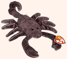 Dark Fabric w// Spikes MWMT 8.5 Inch Ty Beanie Baby ~ IGGY the Iguana