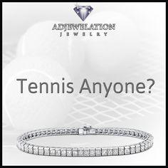 #Tennis anyone?  The kind of tennis that will make her eyes #sparkle....  #diamonds #tennisbracelet #wimbledon