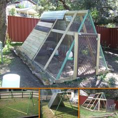 1000 images about chicken coops on pinterest chicken coops coops and diy - Transformer une palette ...