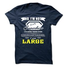LARGE T-Shirts, Hoodies. CHECK PRICE ==► https://www.sunfrog.com/Camping/LARGE-142410606-Guys.html?id=41382