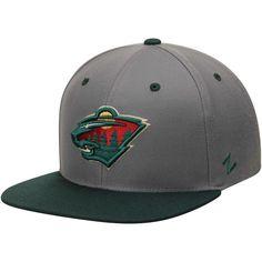 20e8aba426e053 Men's Minnesota Wild Zephyr Gray/Green Z11 Snapback Adjustable Hat, Your  Price: $27.99