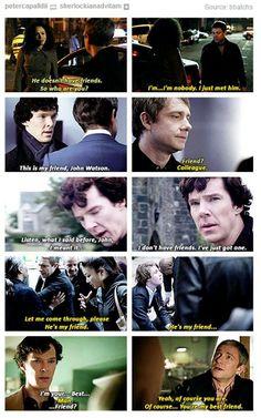 The progression of Sherlock's brotherly love... // [sheds a single tear]