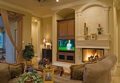 Focal Point: The Fireplace and The Mantel - Design Simply Significant @Terri Davis
