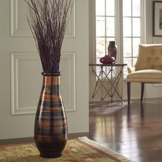 Add a dramatic pop of exotic beauty to any room with this smooth