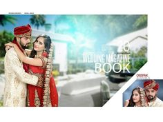 Indian Wedding Album Design, Indian Wedding Photos, Wedding Designs, Wedding Album Cover, Wedding Album Layout, Wedding Photo Books, Wedding Photo Albums, Album Cover Design, Pre Wedding Photoshoot