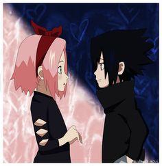 little sakura and sasuke