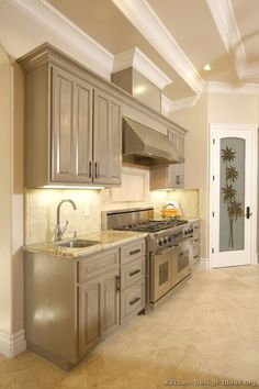 Kitchen Paint Colors With Light Gray Cabinets Taupe Kitchen Cabinets, Grey Kitchen Walls, Light Gray Cabinets, Light Grey Kitchens, Outdoor Kitchen Countertops, Kitchen Cabinet Colors, Painting Kitchen Cabinets, Kitchen Paint, Kitchen Redo