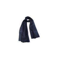 Echarpe Lisa Azul Marinho #echarpes #lenços #lenço #scarf #scarfs