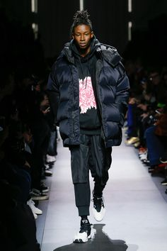 Y-3 Fall 2018 Menswear Fashion Show Collection