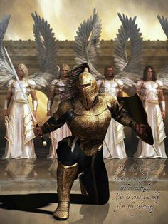 You fight not the battles in life alone. An army of angels march onward with you...bh