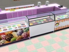 Ice Cream Parlor Part 1 by Jezi Bomb - Sims 3 Downloads CC Caboodle  Check more at http://customcontentcaboodle.com/ice-cream-parlor-part-1-by-jezi-bomb/