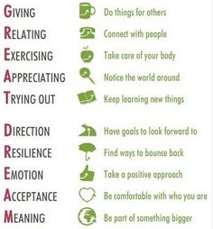 Something great to live by - and teach our children.