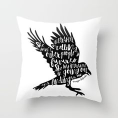 Other People's Futures - The Raven Boys Throw Pillow