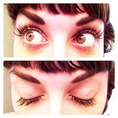 DIY POOR GIRL EYELASH EXTENSIONS:  individual false lash flares  ❤ lash glue  ❤ tweezers  ❤ eyelash curler  ❤ eyelash comb  ❤ scrap of foil  ❤ baby oil and cotton pads    REST ON WEBSITE