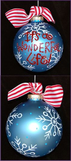 Celebrating Baby-It's a Wonderful Life! Baby Ornament Personalized