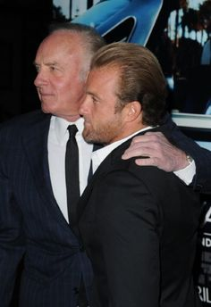 James Caan and Scott Caan Father and son :D