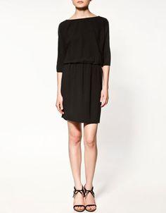 little black dress from Zara Fall-Winter 2011