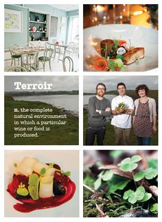 """""""The food is based on our terroir, the ensemble of natural influences that give a food a sense of place. We will quite simply obey the seasons and let nature decide our menu"""". Sense Of Place, Family Holiday, A Food, Foodies, Ireland, Irish, Bucket, Menu, Restaurant"""