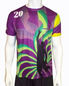 Get into the game with adrenaline, always leave the game in style! Custom made Ultimate Frisbee jerseys from AB Pro Sports