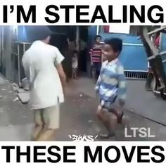 9gag Funny, Funny Video Memes, Funny Laugh, Haha Funny, Funny Jokes, Hilarious, Funny Dance Moves, Cool Dance Moves, Funny Videos For Kids