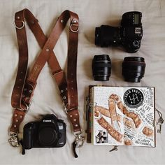 We will also be stocking photographer-must HoldFast Gear multi-strap. This is loyal wearer Jane Lee's kit