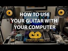 How to use your guitar with your computer (beginners guide) Part 1 Electric Guitar Lessons, Basic Guitar Lessons, Guitar Lessons For Beginners, Music Lessons, Music Sing, Music Guitar, Playing Guitar, Acoustic Guitar, Guitar Notes