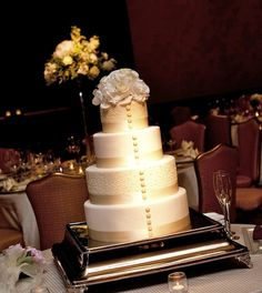 I'm thinking about using buttons running down our cake kind of like those things on this cake...