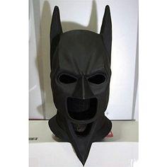 1:1 Custom Halloween Costume Cosplay Latex Batman The Dark Knight Rises Mask LA02 >>> For more information, visit image link.