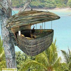 Dining Pod at Soneva Kiri Resort - Island of Ko Kood, #Thailand #hiholiday