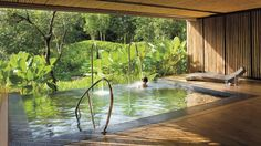 Krabi, Thailand at Phulay Bay, a Ritz-Carlton Reserve Spa guests can enjoy additional experiences before and after their treatment in our outdoor vitality pools, aromatherapy steam rooms, saunas...
