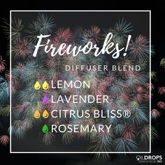For when it's not quite a holiday but you need some fireworks in your life! #diffuserblends #the365life #holiday #notreally #butalmost #essentialoils #doterra #diffuser #eos #aromatherapy #teamnatural