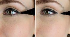 Cómo aplicar el eyeliner líquido con la técnica de los puntos http://blog.birchbox.es/birchbox/la-tecnica-de-los-puntos-el-truco-definitivo-para-un-eyeliner-profesional.html