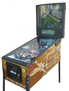 Pinball Machines - Star Wars Trilogy Pinball Machine - The Pinball Company Arcade Game Room, Game Room Bar, Arcade Games, Flipper Pinball, Retro Arcade Machine, Stand And Deliver, Pinball Wizard, Claw Machine, Penny Arcade
