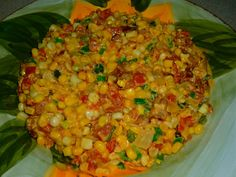 The Weekend Gourmet: The Perfect Summer Side Dish: Corn Maque Choux...Featuring Red Gold Petite Diced Tomatoes