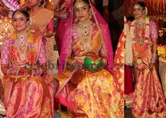 Bride Shalini Rich Wedding Saree