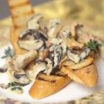 Cashel Blue Cheese with Wild Mushroom Toasties. Find your Cashel Blue at Aperitivo!