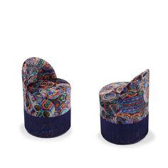 MECHICO armchair #mechicopattern #velvetarmchair #handmade