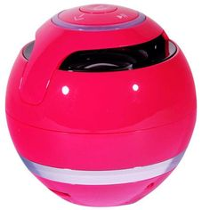 Elogoog Colorful Balls Portable Bluetooth Speakers Mini Wireless Music Player via Micro SD Card/USB Reader Loud Super Bass Multi-Color (Hot Pink). ▼Bluetooth v2.1, support stereo music. ▼Volume control, volume down/up, next/previous song. ▼Built-in rechargeable battery, come with a charging cable. ▼Compatible For iphone, For ipad, FOR Samsung and any devices with Bluetooth functions. ▼An ideal gift for any occasion: perfect for girl/boyfriend, perfect for students in dorms, party goers at...