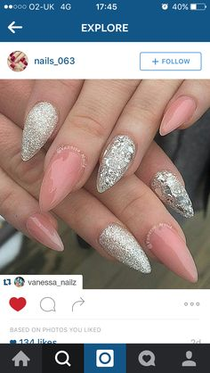Gorgeous pink and glitter
