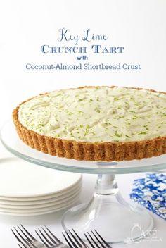 Key Lime Crunch Tart&*&