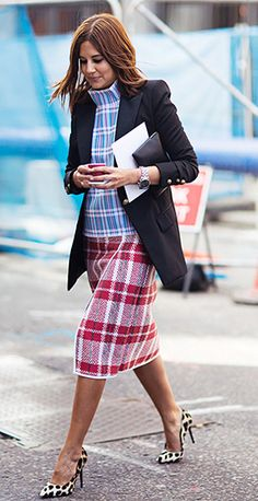 Plaid outfit this is a great combo