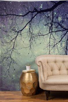 Shannon Clark Diamonds In The Sky Tapestry from DENY Designs