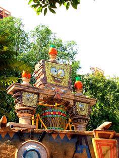 Travelholic: NIckelodeon Theme Park in Sunway Lagoon, #Malaysia. #Selangor
