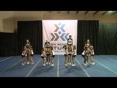 Partner Stunts 4B - YouTube Cheer Pyramids, Cheerleading Pyramids, Cheer Coaches, Cheer Mom, Cheer Stuff, Easy Cheer Stunts, Easy Cheers, Notre Dame Football, Alabama Football