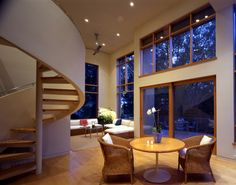 Montecito Residence + Guesthouse - contemporary - living room - other metro - Ronald Frink Architects