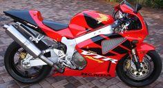 Honda VTR1000 SP-1 red