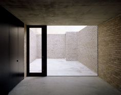 Caruso & St John   Brick House (Casa de Ladrillo)   Londres, Reino Unido   2005