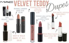 mac velvet teddy dupe - Google Search